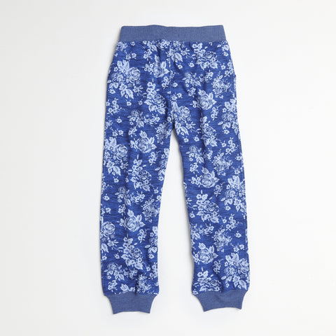 Blue High-Rise Jogger