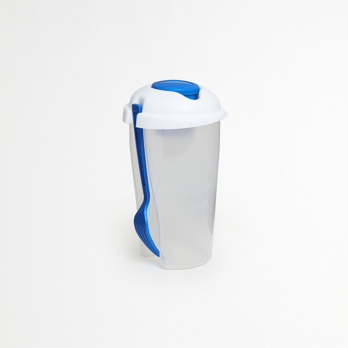 Blue Portable Salad Container
