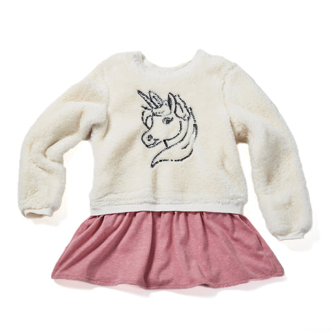 Cozy Unicorn Dress