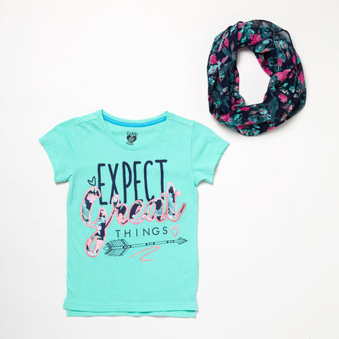 Expect Great Things Shirt And Scarf