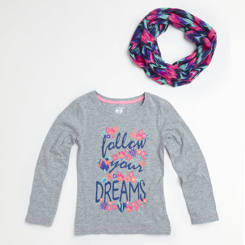 Follow Your Dreams Shirt & Scarf