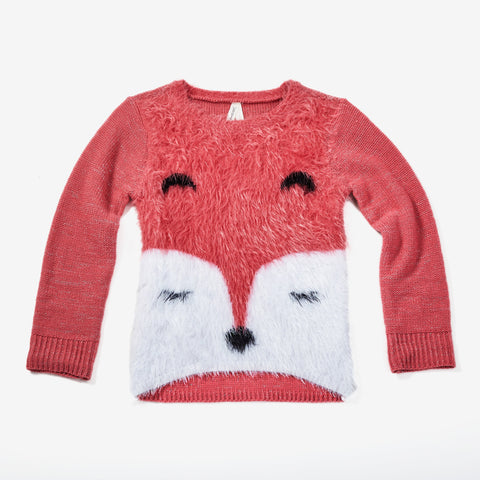 Fuzzy Fox Sweater