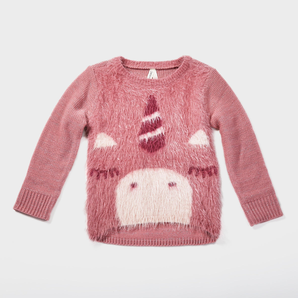 Fuzzy Unicorn Sweater