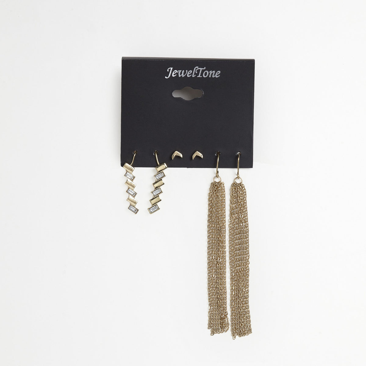 Gold Earring Trio