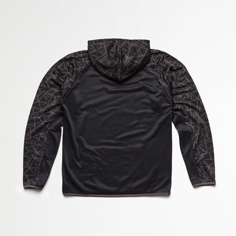Graphic Black Athletic Hoodie