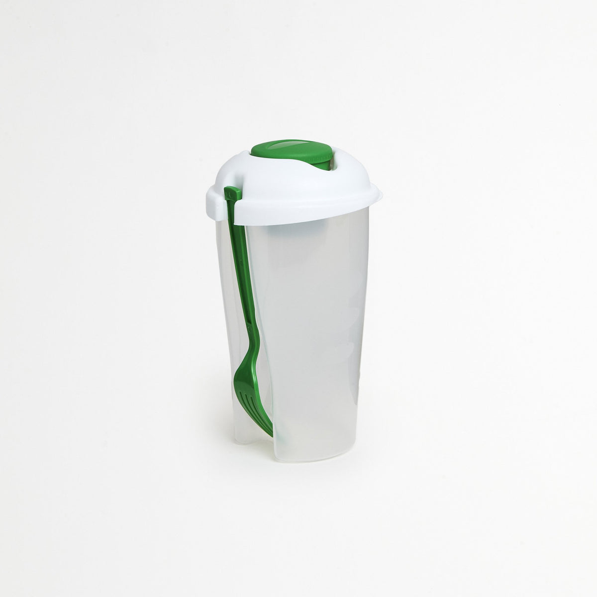 Green Portable Salad Container