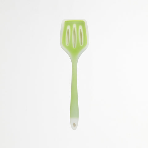 Green Slotted Turner