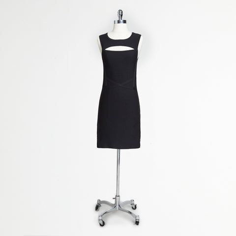 Keyhole Bandage Dress (Juniors')