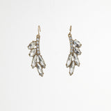 Leaves Rhinestone Earrings