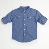 Medium Blue Work Shirt