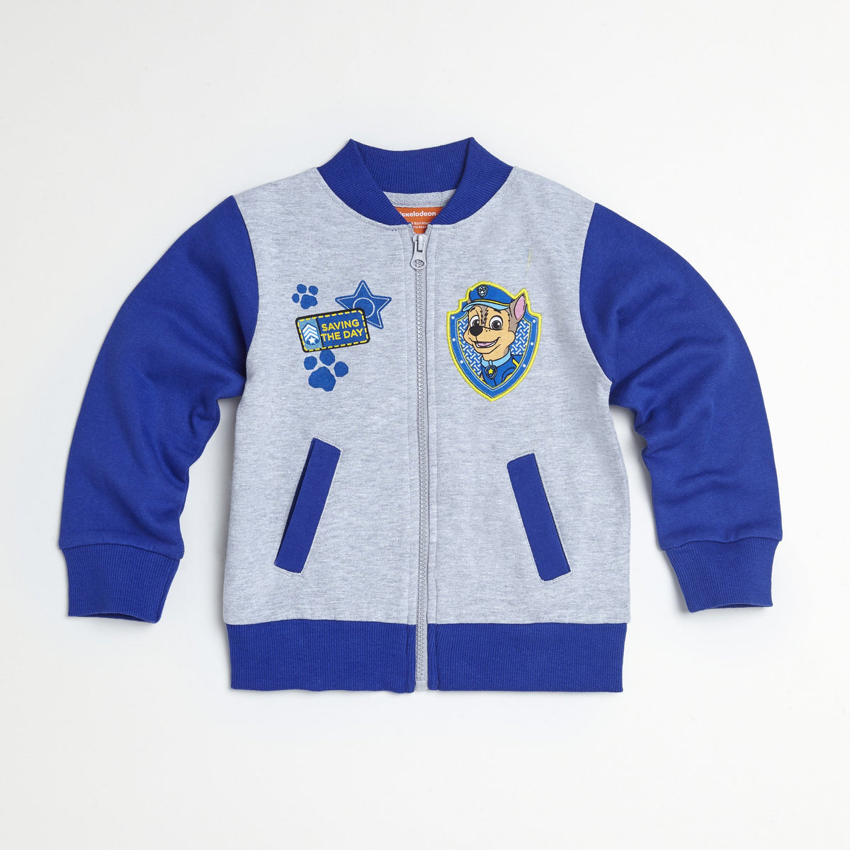 Paw Patrol Blue/Yellow Jacket, Tee & Jogger Set