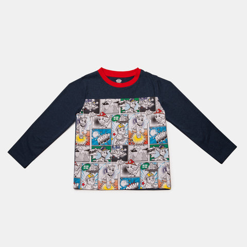Paw Patrol Long Sleeve Comic Tee