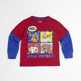 Paw Patrol Red/Blue Tee & Jogger Set