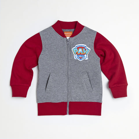 Paw Patrol Red/Gray Jacket, Tee & Jogger Set