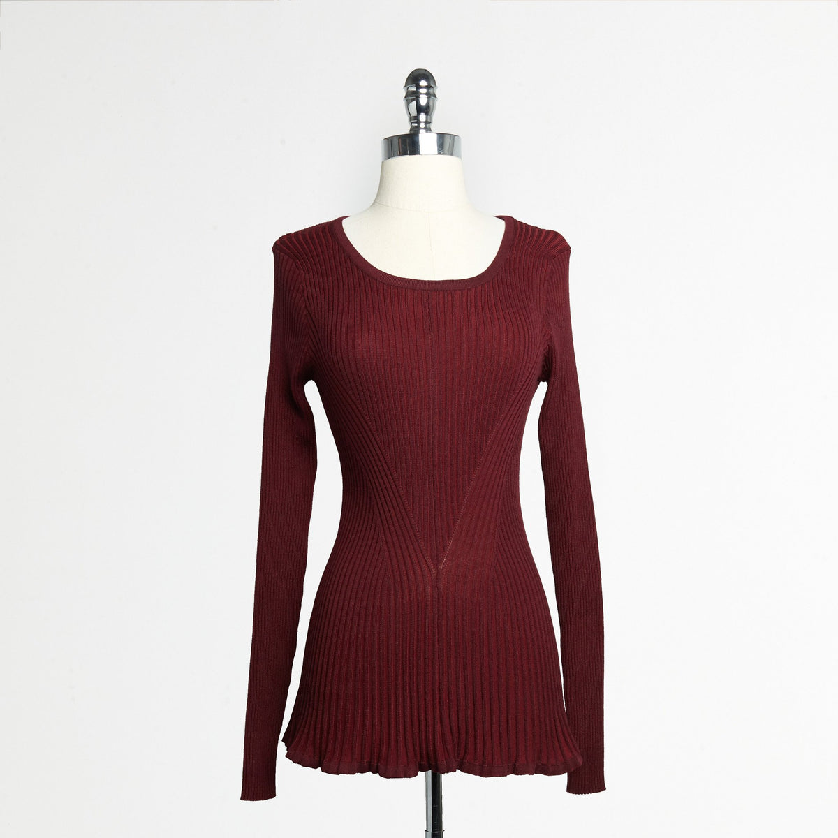 Peplum Knit Top (Juniors')