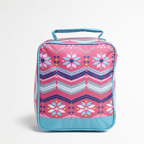 Pink Lunch Tote