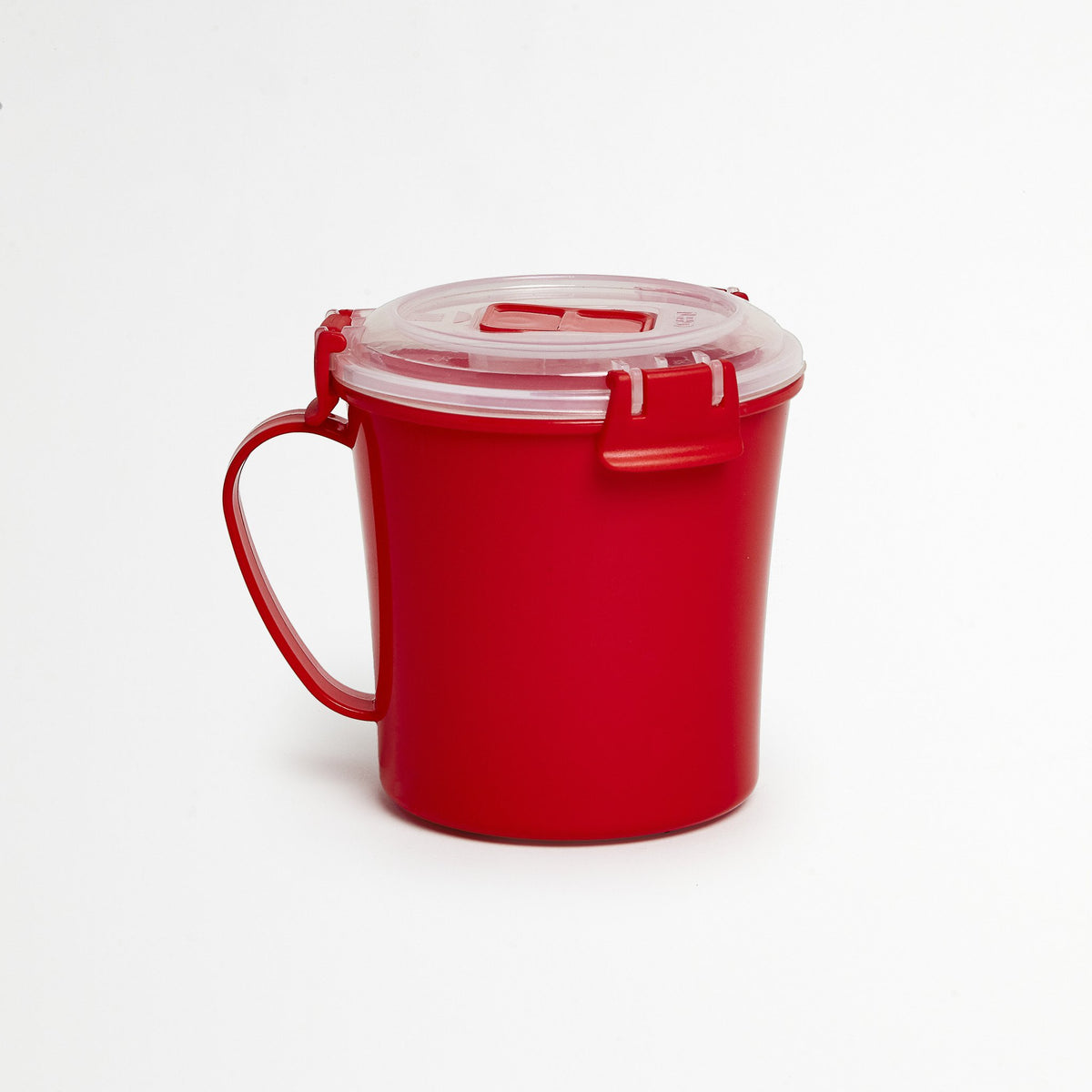 Red Soup Container
