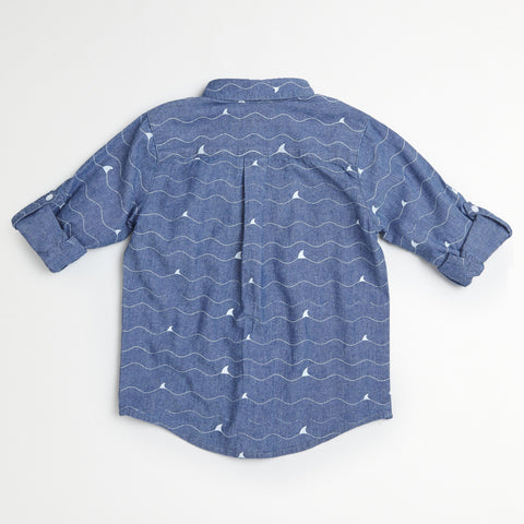 Shark Chambray Shirt