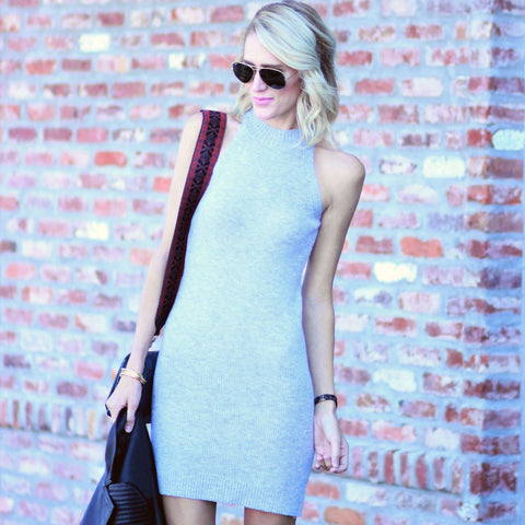 Sleeveless Sweater Dress (Juniors')