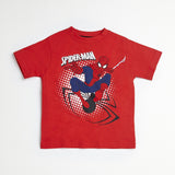Spider-Man Red/Black Jacket, Tee & Jogger Set