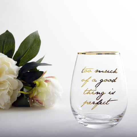 Stemless Wine Glass (Single)