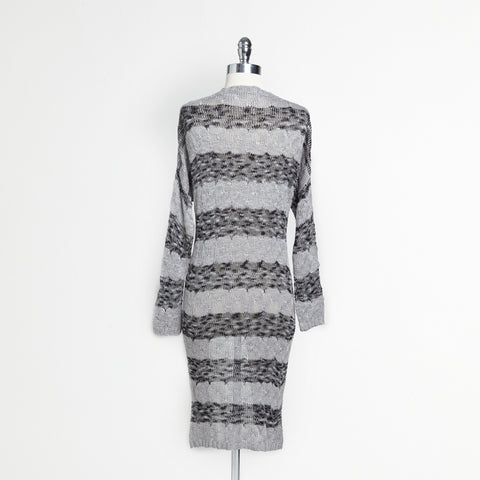 Striped Open Cardigan (Juniors')