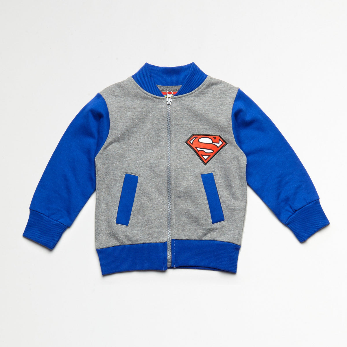 Superman Jacket, Tee & Jogger Set