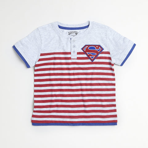 Superman Striped Tee