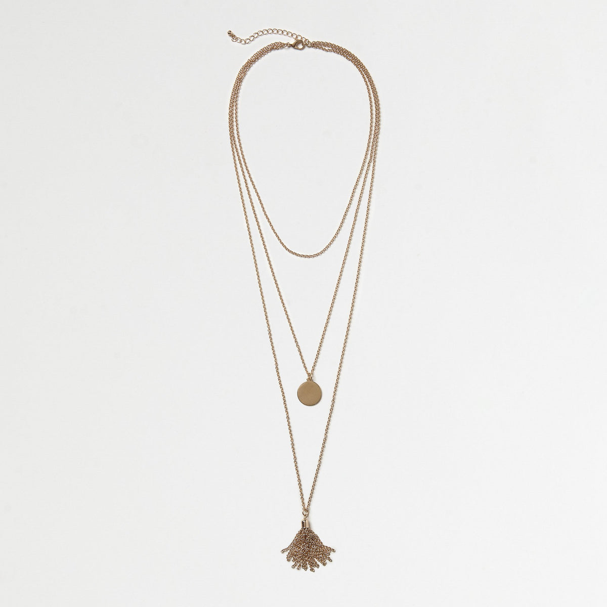 Tassel Layered Necklace