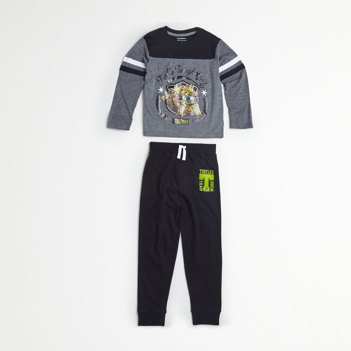 TMNT Gray/Navy Tee & Jogger Set