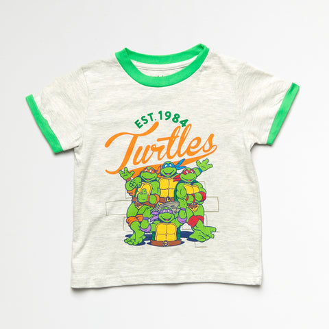 TMNT Heather Gray Vintage Tee