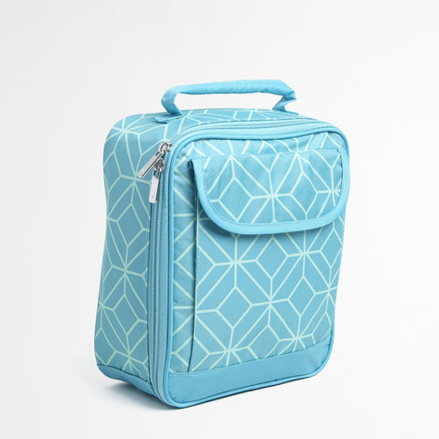 Turquoise Gem Lunch Tote