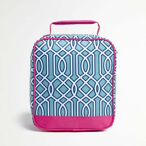 Turquoise Lunch Tote