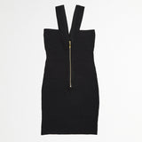 V Strap Bandage Dress (Juniors')