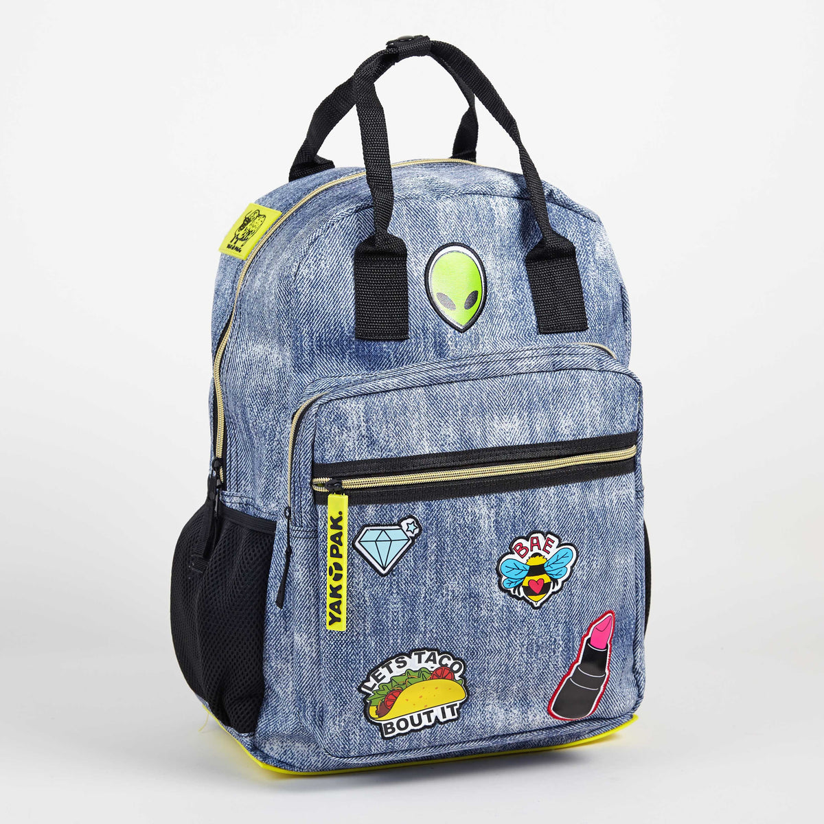 Yak Pak Backpack with Patches