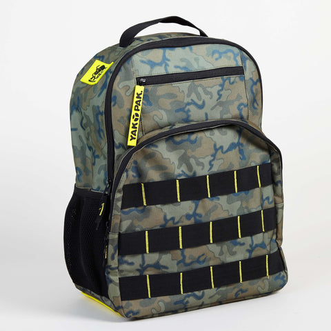 Yak Pak Green Camo Backpack