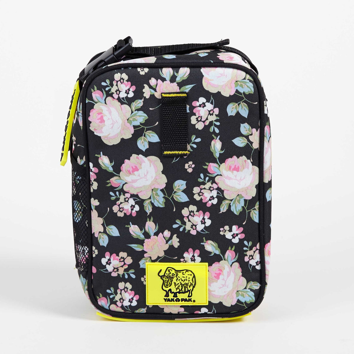 Yak Pak Pink Floral Lunch Bag