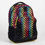 Yak Pak Rainbow Checker Backpack