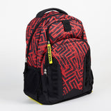 Yak Pak Red Graphic Backpack