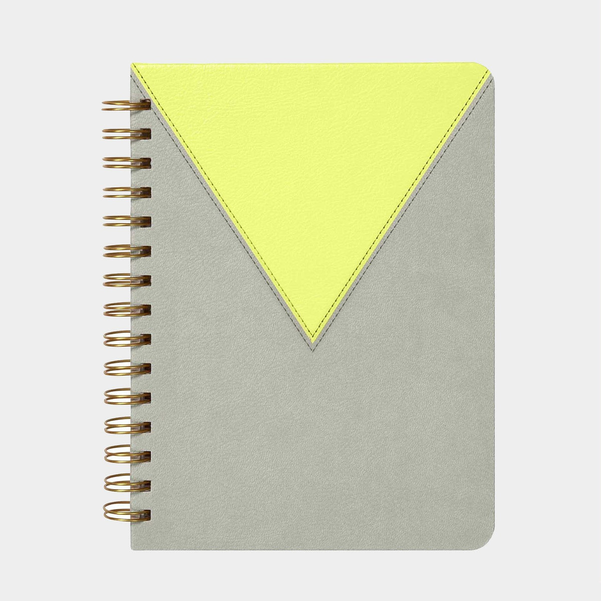 Yellow Leatherette Journal