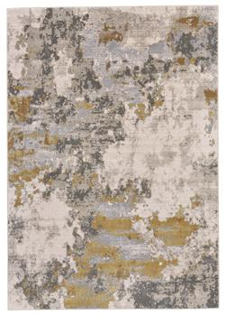 Waldor Abstract Gold/Birch-by Feizy