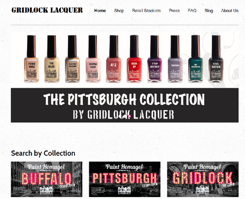 Welcome to the new Gridlock Lacquer Website!