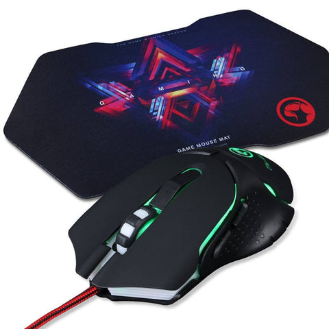 MARVO M309+G7 USB Gaming Mouse with Mouse Pad Combo