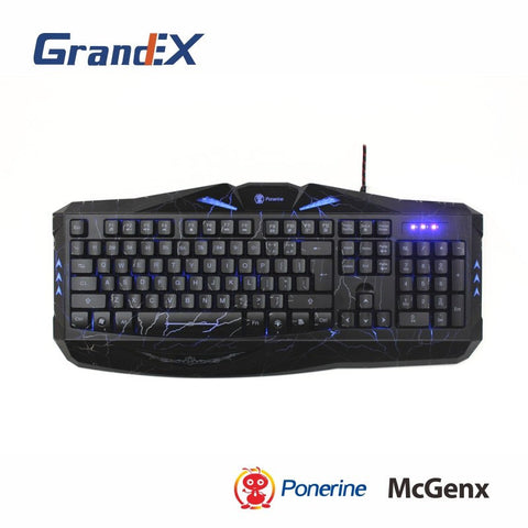 PONERINE COLORFUL GAMING KEYBOARD GK813