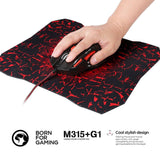 MARVO M315+G1 Gaming Mouse with Mouse Pad - Epic Buy International Inc