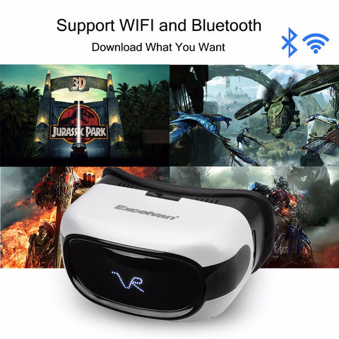 Excelvan A5026 VR Headset HD 3D Virtual Reality Glasses Android 5.1 RK3126 Quad Core 8GB