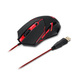 REDRAGON Max Optical Gaming Mouse 2000DPI Adjustable 6D USB Wired Mouse with Weight Tuning Set Computer Mouse for Laptop PC - Epic Buy International Inc