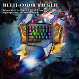 Delux T9 Plus 29 Keys Programmable Mechanical USB Wired One Hand Gaming Keyboard - Epic Buy International Inc