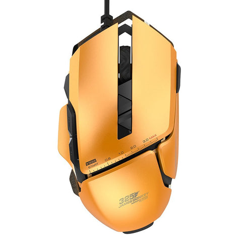 JAMES DONKEY Optical USB Wired Pro Gaming Mouse with 4 Adjustable Level