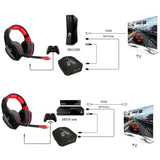 HUHD 2017New Version Stereo headset 2.4Ghz Optical Wireless Gaming Headset headphone for PS4/3 XBox 360/one PC TV earphones - Epic Buy International Inc